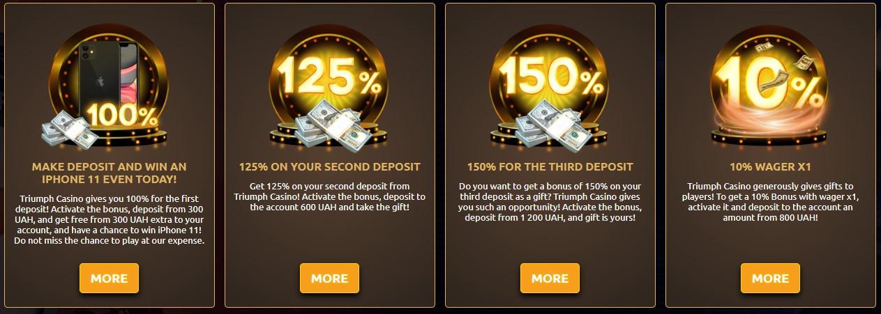Triumph-Casino-bonus