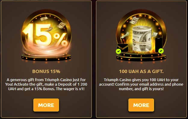Triumph-Casino-bonus2